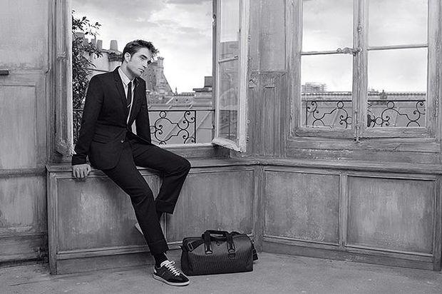 Роберт Паттінсон в рекламі Dior