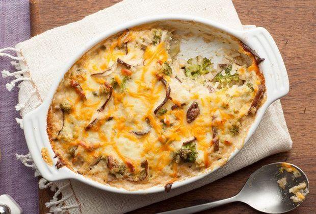 Рецепт карторляно-грибного гратену