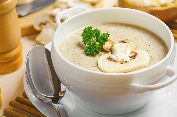 Рецепт грибного крем-супу