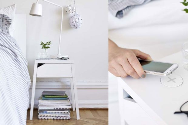 Стіл з функцією безпровідної зарядки від IKEA
