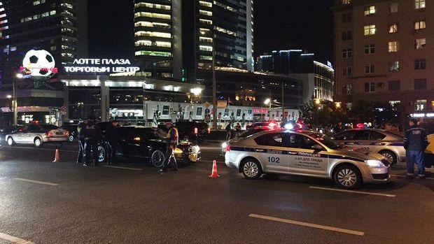 Урядове авто збило автоінспектора в центрі Москви