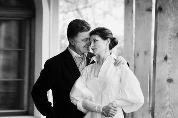 Марина Порошенко привітала чоловіка зднем народження оригінальним способом