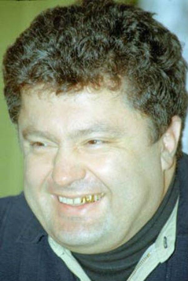 Молодий Петро Порошенко
