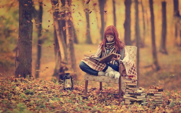 Осінні вечори створені для читання