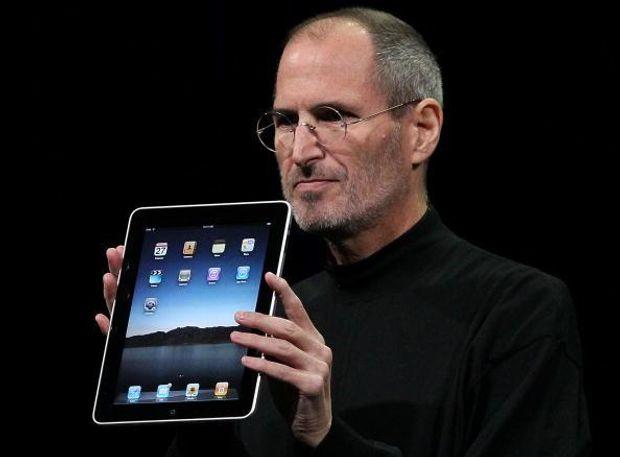 Стів Джобс презентує новий iPad