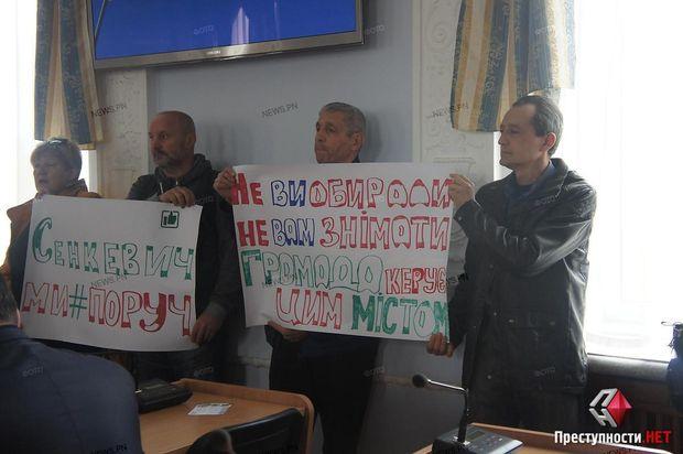 Главы города Николаева могут отправить вотставку