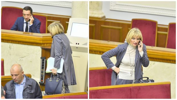 Ірина Луценко з сумкою Dior