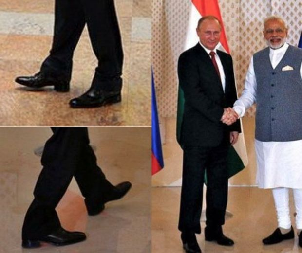Путін комплексує через малий зріст