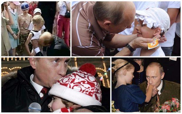 Отак виглядає любов Путіна до чужих дітей