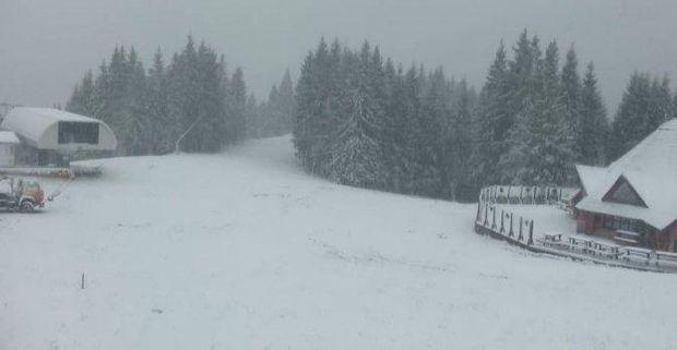 Сніг, Карпати, Україна, погода