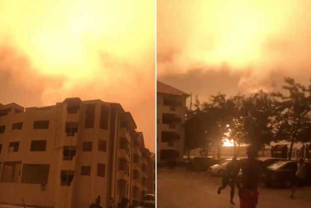 У Гані вибухнула газова станція