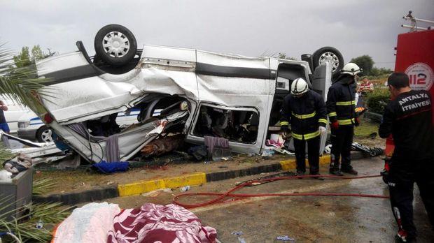 Внаслідок ДТП біля Анталії загинуло 3 громадян Німеччини