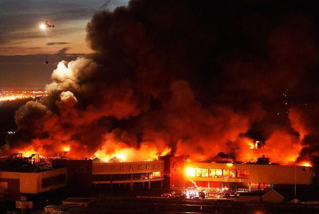 Сіндіка, пожежа, Москва