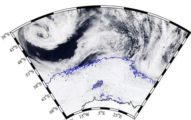 Вльодах Антарктиди виявили діру, розміром утри українські області