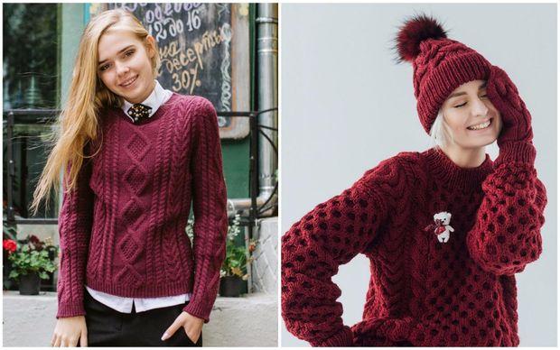 Обирайте колір светру відповідно до вашого типу фігури