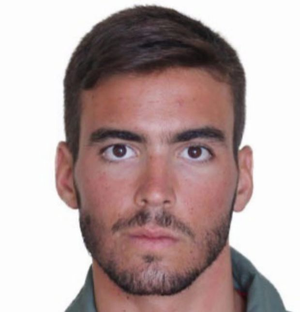 Загинув 26-річний лейтенант Фернандо Перес Серрано.
