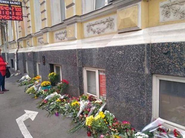 Місце ДТП в Харкові