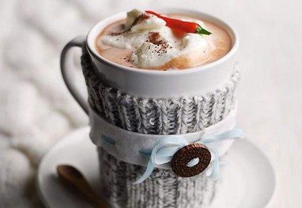 Для більш насиченого смаку додайте в какао розтоплений шоколад