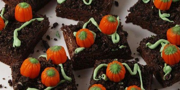 Рецепт брауні до Хелловіну