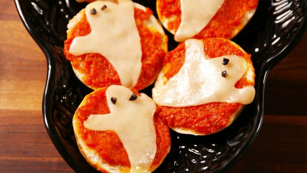 Рецепт піци на Хелловін з примарами