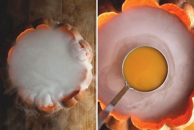 Сухий лід – це дуже ефектна подача напоїв