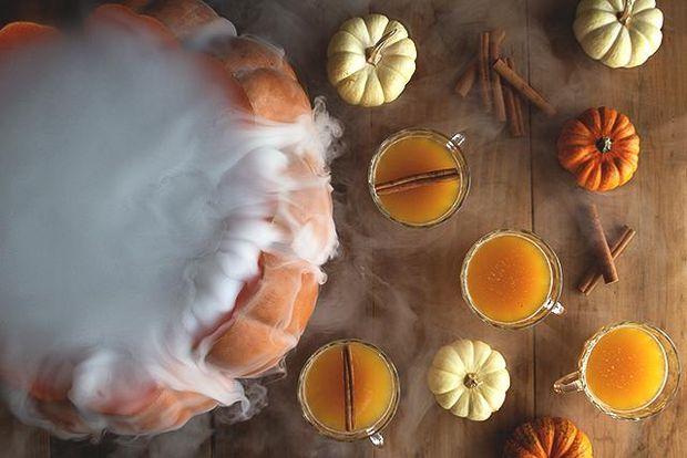 Рецепт гарбузового пуншу на Хелловін