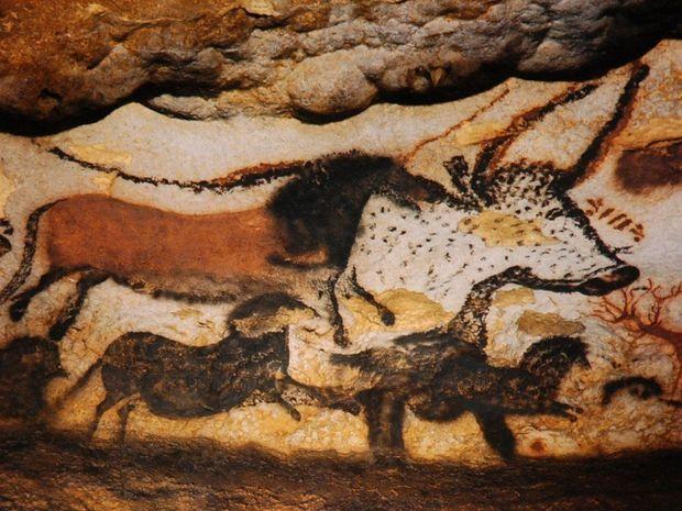 Живопис в печері Ласко