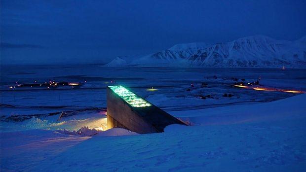 Всесвітнє сховище насіння в Норвегії