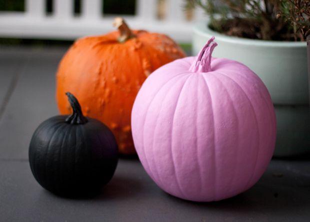 Як пофарбувати гарбуз на Хелловін: цікаві ідеї