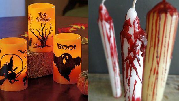 Свічки на Хелловін