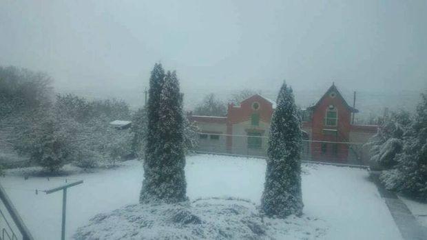 УХаркові таобласті випав перший сніг