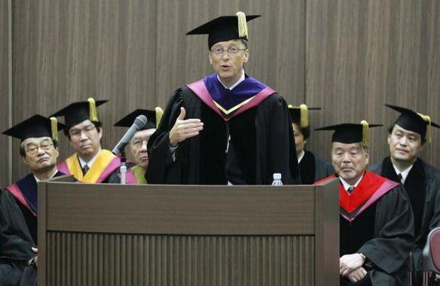 Виступ Білл Гейтс в університеті Васеда