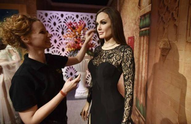 Воскова фігура Анджеліни Джолі