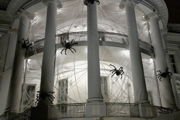 Білий дім прикрасили до Хелловіну