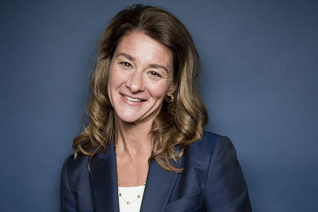 Засновниця благодійного фонду Bill & Melinda Gates Foundation Мелінда Гейтс отримала 3 місце у рейтингу найвпливовіших жінок світу