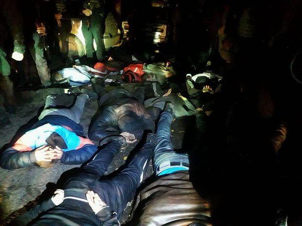 УПолтавській області затримали понад 40 рейдерів, які намагалися захопити агрофірму