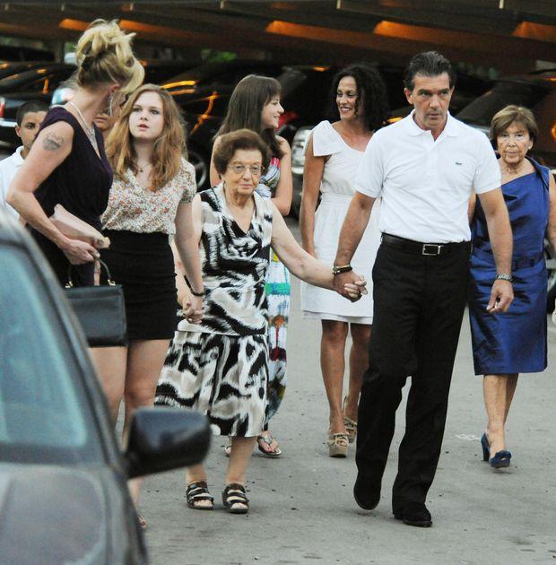 В Антоніо Бандераса померла матір