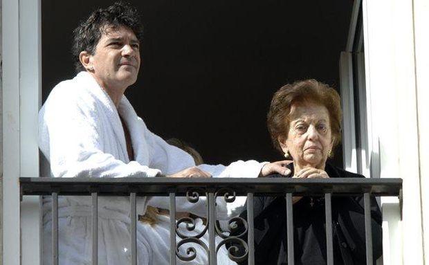 Антоніо Бандерас з матір'ю Анною