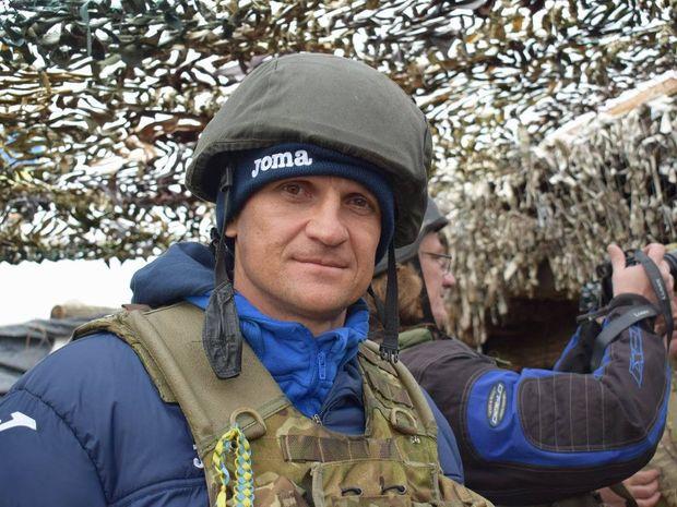 Володимир Єзерський в зоні АТО