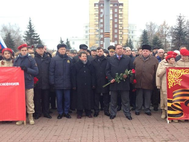 Плотницький, Пушилін, Володимир, Росія