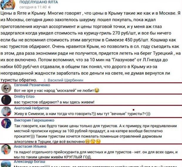 Москва, Росія, Крим, ціни, гроші
