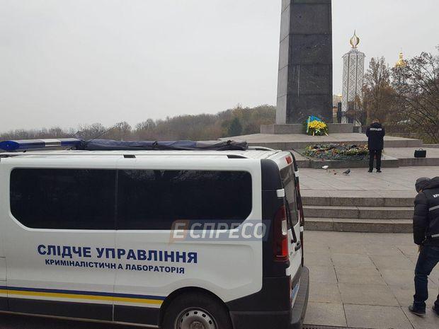 В Києві залили цементом Вічний вогонь
