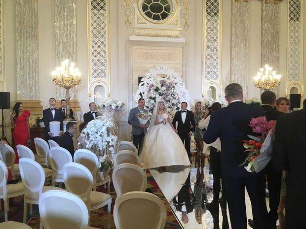 Севастьянова відгуляла власне весілля у готелі Fairmont Grand Hotel Kyiv.