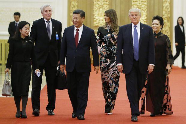 Дональд Трамп у Китаї