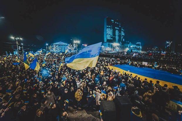 Донцьк-2014. Проукраїнський мітинг