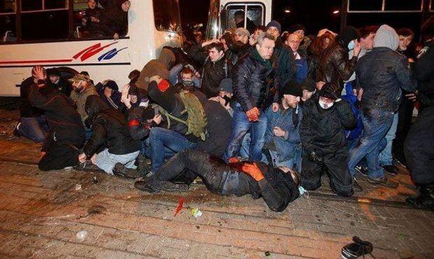 Донецьк. Весна-2014. Бійня на мітингу