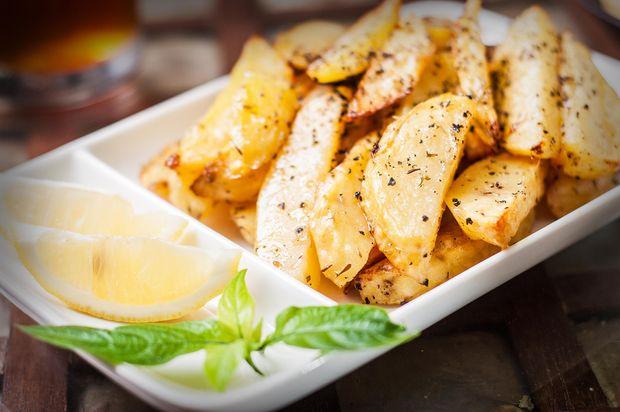 Рецепт запеченої картоплі з лимоном