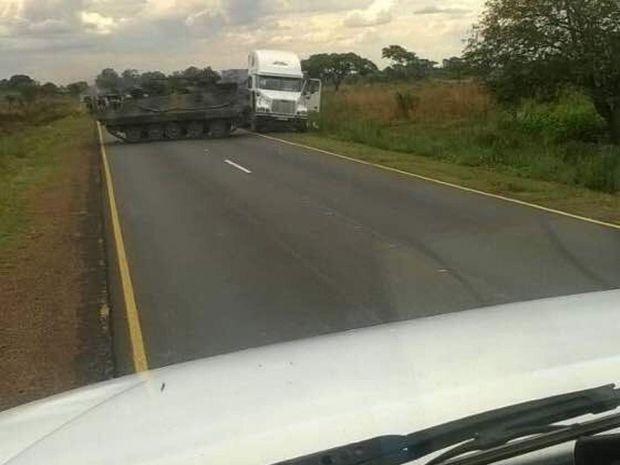 Зимбабве, переворот, оружие, армия