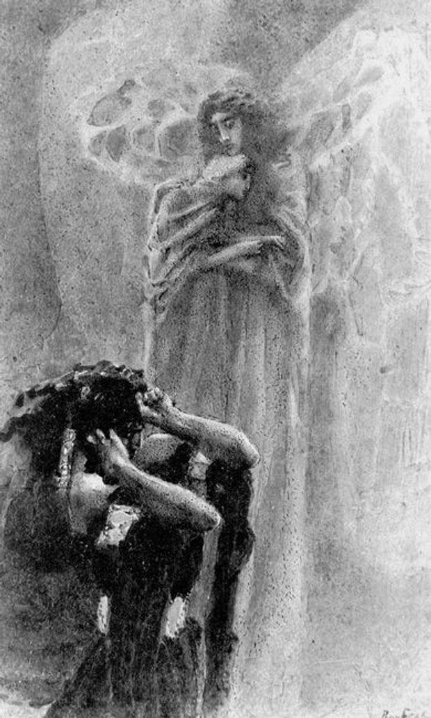 Путін, Демон, картина, Врубель, Вірменія, Саргсян
