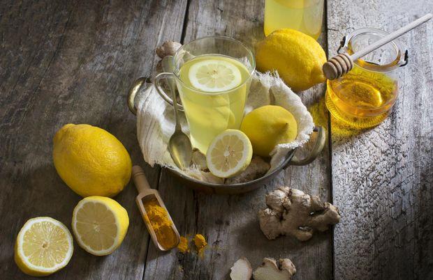 Рецепт напою для схуднення з імбиром та лимоном